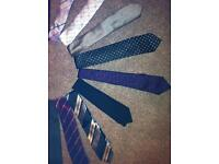 18 neck ties all in lovely condition 100% polyester £10 for all. Bargain!