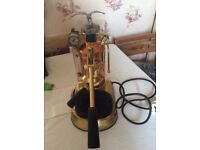 Pavoni expresso pro machine copper and brass with chrome eagle £850 ono