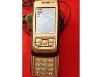 Nokia E65 small slider mobile phone unlocked