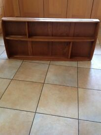 Ercol Shelf/Display unit