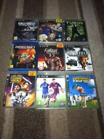 PLAYSTATION 3 BUNDLE INC GAMES CONTROL ETC
