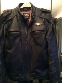 Harley leather jacket limited addition. Medium