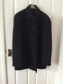 Jaeger short overcoat