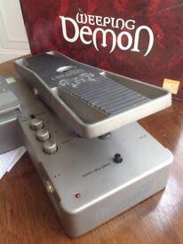 Ibanez Weeping Demon Wah WD-7 wah wah effects pedal, boxed