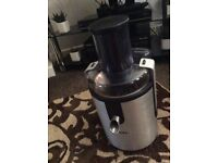 Philips Whole Fruit Juicer, fully working - West Kirby, Wirral