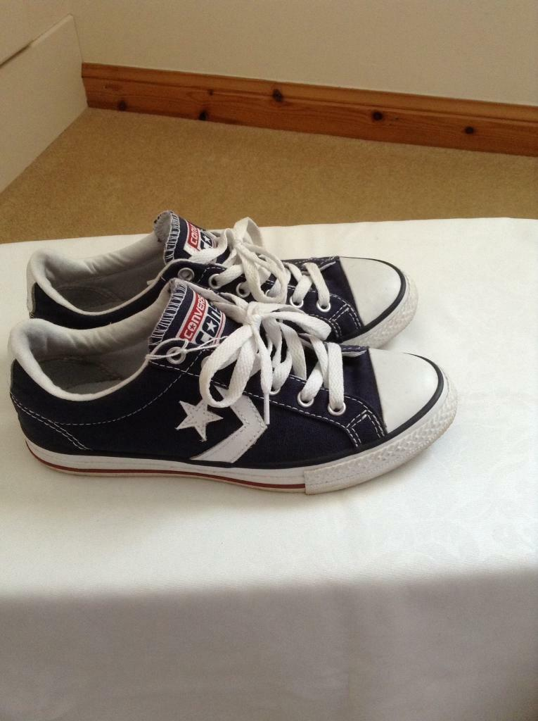 Converse all star lace up shoes  136c420d0