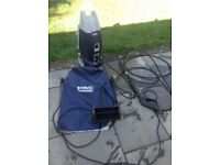 MacAllister 2 Power washer 1800 W 1600 PSI with 3 heads for lance, spay and patio cleaning