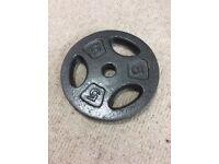 Cast iron 5kg weight