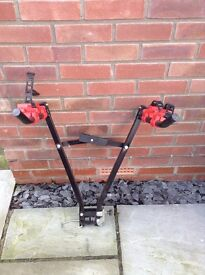 Cycle rack for 2 bikes fits on Tow Bar ball hitch cash on collection only please