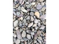 20 mm riverbed garden and driveway chips / gravel / stones