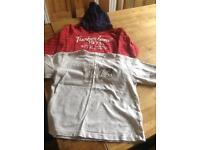 Timberland hoodie and t shirt