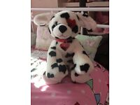 BUILD A BEAR LOVE HEART PUPPY