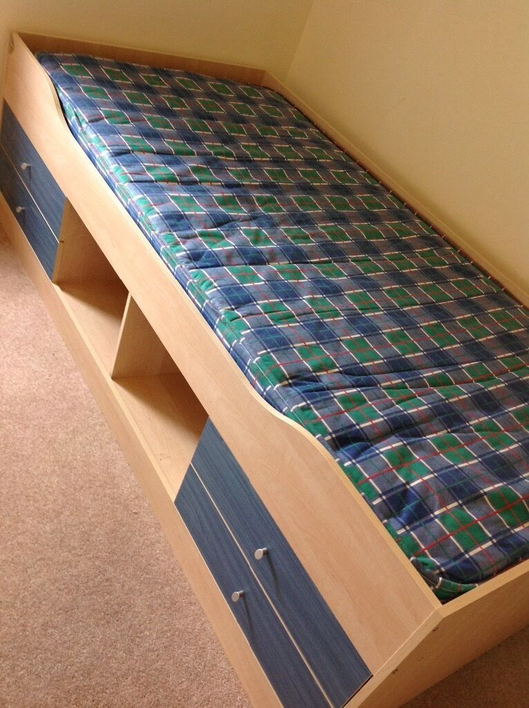 Single Midsleeper with Storage