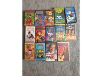 Assorted video tapes