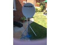 Maxview 55cm Satellite Dish, Tripod, Carry Case