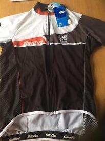 Men's cycling shorts sleeve jersey