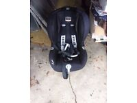 Britax ISOFIX and car seat
