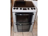 Zanussi 60cm, light silver colour electric cooker WARRANTY GIVEN
