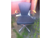 3 hair dresser salon chairs different sizes different designs