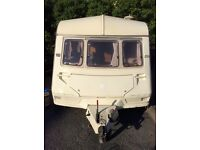 Abi Dalesman 4 berth caravan with awning