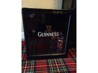 Fridge . Rare Guinness Logo Compact Fridge/Cooler