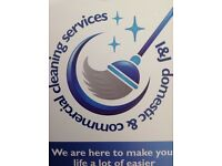 I&J domestic and commercial cleaning limited
