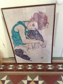 Egon Schiele Poster