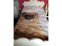 Girls bed with mattress if wanted