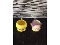 Two character mugs. Good condition..ideal for collectors.
