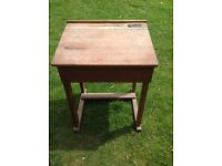 1930s child's school desk