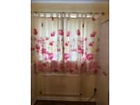 Curtain and duvet set