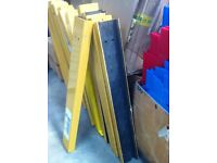 Heavy Duty Industrial Warehouse Pallet Racking Column Upright Frame Protector For Sale