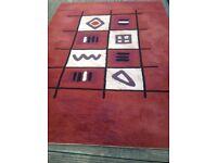 Contempory rug