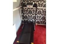Dynamix motorised treadmill with powered incline.