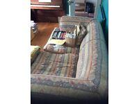 Large sofas vgc