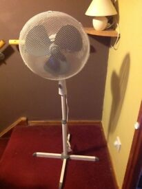 16 inch Pedestal Three speed Fan