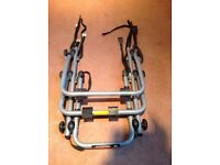 Avenir 3 cycle boot mounted bike rack