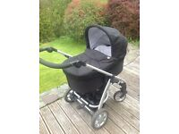 Mamas & Papas Sola pushchair travel system in black
