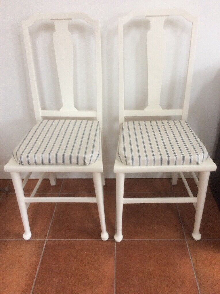 Super Two Light Weight Upholstered Wooden Chairs In North Baddesley Hampshire Gumtree Download Free Architecture Designs Scobabritishbridgeorg