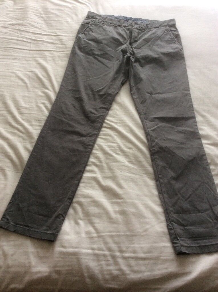 71574fe5 Men's Grey, Tommy Hilfiger,slim fit, chino/trousers,size 34W/34L BNWL