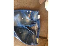 Authentic men's diesel jeans 34 w 32 leg