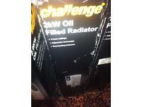 Challenge 2kW Oil Filled Radiator rrp £50