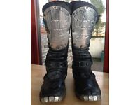 Motorcycle / motocross boots kids / child's