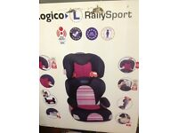 2 Graco Car booster seats with detachable backs. 1 brand new