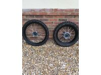 Husqvarna WR/WRE 125 Motocross Wheels & Tyres