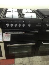 Flavel Milano G60 black cooker. £320. New/graded 12 month Gtee