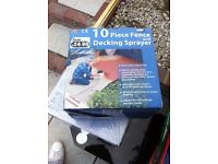 Fence Decking Sprayer BRAND NEW