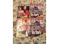 A Varied Collection of 69 Film Magazines - 1970's, 80's, 90's and 2000's.