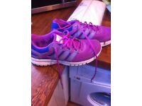 Adidas girls/ladies trainers size 4