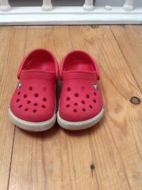 Red Crocs - Size 6/7